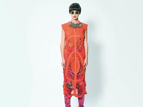 אופנה , שנקר , דוגמנית / מעצב: דקל ראובן מלמד , צלם: רון קדמי